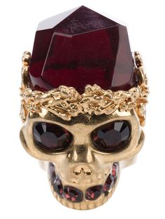 Alexander McQueen Ruby Ring