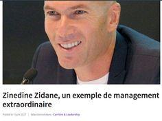 Stratégie et Veille d' Entreprise: Zinedine Zidane, un exemple de management extraord...
