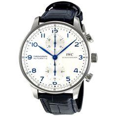 IWC Portuguese Men's Chronograph Automatic Watch - 3714-46 IWC http://www.amazon.com/dp/B0070LPR8C/ref=cm_sw_r_pi_dp_rB7bub10HGCKZ