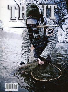Fly Fishing | Cover Winter Trout Magazine | www.reelgrea.se