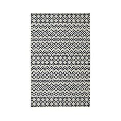 Mohawk Aztec Bands Area Rug ($120) ❤ liked on Polyvore featuring home, rugs, blue, aztec pattern rug, mohawk area rugs, mohawk rugs, aztec rug and multi-colored rug