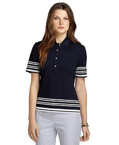 Women's ProSport Elbow-Sleeve Slim Fit Polo Shirt