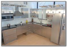 Stainless Steel Kitchen Shelves Commercial Stainless Steel Kitchen Shelves, Commercial Kitchen, Cabinet Doors, Kitchens, Kitchen Cabinets, Speed Internet, Architecture, High Speed, Kitchen Ideas