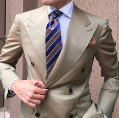 I understand & wish to continue Indian Men Fashion, Mens Fashion Suits, Mens Suits, Men's Fashion, Fashion Styles, Cream Suit, Blazer Outfits Men, Brown Suits, Suit Accessories