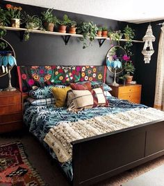Bohemian Bedroom Decor And Bed Design Ideas… – decoracion – Home Decor Ideas Bed Design, Interior, Home Decor Bedroom, Dream Room, Home, House Interior, Apartment Decor, Interior Design, Bohemian Bedroom Design