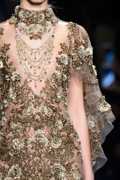 "parisfashionhouse: "" Marchesa Spring/Summer 2016 details """