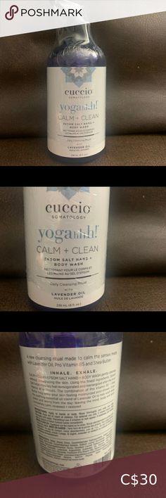 Calm + Clean Lavender Body + Hand wash Cuccio Somatology | Clam + Clean Lavender body + hand wash. 🧼 cuccio Skincare Cleanser & Exfoliant Beard Oil And Balm, Beard Wash, Cold Cream, Cleansing Gel, Lavender Oil, Clam, Face Cleanser, The Balm, Skincare