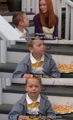 Please invite Evan to your party ~ Desperate Housewives Quotes ~ Season 5, Episode 21: Bargaining #amusementphile