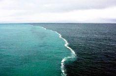 Where Two Oceans Meet - But do not Mix