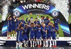 "Chelsea FC no Instagram: ""#SuperCup winners! 🏆 #CFC #Chelsea"" Chelsea Fc, Chelsea Football, Athletic Bilbao, Liverpool, Chelsea Champions League, Uefa Super Cup, Christian Pulisic, Big Six, Club"