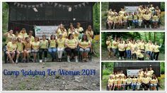It's hard to be serious when you're having so much fun at Camp Ladybug For Women!