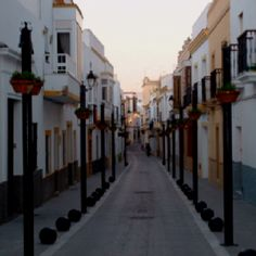 Street in Rota Spain - I loved my time in Rota