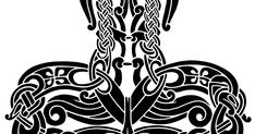 Thor's Hammer 2012 To celebrate 1000 likes of this fb-page! You are allowed to use this design for whatever purpose - print it on . 1000 Likes, Viking Designs, Thors Hammer, Fb Page, Compass, Purpose, Prints