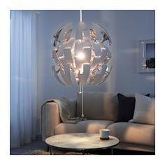 IKEA PS 2014 Pendant lamp - white/silver-colour - IKEA