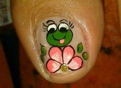 Modelos de uñas Mani Pedi, Manicure, Animal Nail Art, Toe Nails, Nail Designs, Lily, Tattoos, Toe Nail Art, Nail Arts