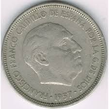 Resultado de imagen de fotos de la peseta de 1958