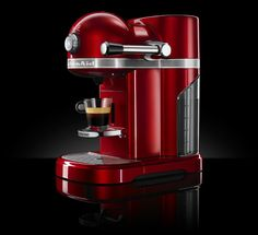 Make your mornings better with Nespresso by KitchenAid! Enter the giveaway! Machine A Cafe Expresso, Coffee Machine, Coffee Maker, Nespresso, Kitchenaid, Kitchen Must Haves, Kitchen Ideas
