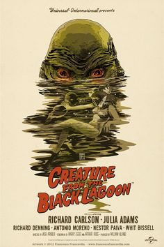 POPS GUSTAV: The Wednesday Theme: The Creature from the Black Lagoon!