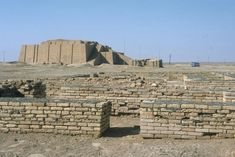 The ruins of Ur City and its Zigurat. The city of Ur was once a centre of worship of the moon-god Nanna (Sin), the site's most prominent feature is   still a temple tower or ziggurat. Abraham and his family had lived in this city before Jehovah directed him to leave Ur