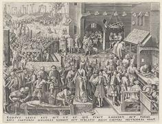 Rechtvaardigheid, Philips Galle, Pieter Brueghel (I), Hieronymus Cock, in of na 1559 - 1562