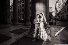 Honeymoon in Italy: photos of Anna & Kirill in Rome | by photographer Artur Jakutsevich based in Rome, Italy