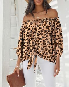 Look Fashion, Fashion Outfits, Dress Sewing Tutorials, Blouse Online, Off Shoulder Tops, Womens Fashion Online, Pattern Fashion, Blouses For Women, Long Sleeve Tops