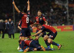 #Genoa Tutti uno sopra l'altro