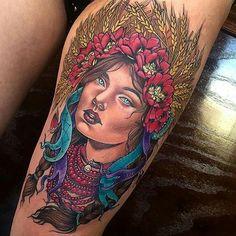 """Tatuagem feita por <a href=""""http://instagram.com/scragpie"""">@scragpie</a>  Via: <a href=""""http://instagram.com/tattooistartmag"""">@tattooistartmag</a>"""