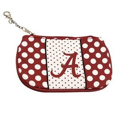 Find your University of Alabama Kids accessories including gifts, jewelry, and more at the online store of University of Alabama. Browse our selection of Crimson Tide accessories for men, women, and kids at University of Alabama Official Online Shop. Polka Dot Fabric, Polka Dots, University Of Alabama, Pouch, Wallet, Alabama Football, Alabama Crimson Tide, Roll Tide, Lady