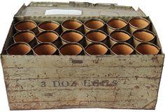 One Kings Lane - Tin Egg Crate