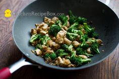 Chicken Breast & Broccoli Stir Fry