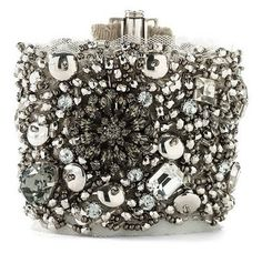 I would wear this - Juicy Couture Beaded Fabric Bracelet via Nordstrom