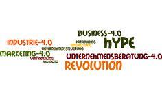 """Revolution oder Hype? Auf der Suche nach der """"Industrie 4.0""""!  Braucht man für ein Business 4.0, eine Industrie 4.0, ein Marketing 4.0 nicht auch zwangsläufig den Chef 4.0 ?   Sind Kunden, Unternehmen, Mitarbeiter oder Chefs überhaupt schon """"4.0-kompatibel"""" ?"""