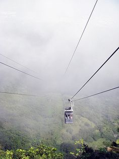 Telesferico Puerto Plata-I was going to ride this but I changed my mind when I saw how high it was. LOL