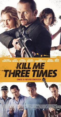 Directed by Kriv Stenders.  With Simon Pegg, Teresa Palmer, Alice Braga, Luke Hemsworth. Professional hit-man Charlie Wolfe finds himself in three tales of murder, blackmail and revenge after a botched contract assignment.