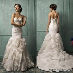 Awesome Wedding dresses collection 2018-2019 Check more at http://myclothestrend.com/dresses-review/wedding-dresses-collection-2018-2019/