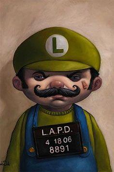 Luigi mugshot
