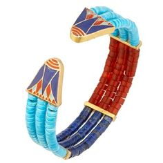 The Met Store -  Egyptian Lotus Cuff Bracelet
