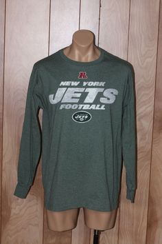 MEN'S NEW YORK JETS LONG SLEEVE SHIRT-SIZE: LARGE* #NEWYORKJETS #GraphicTee