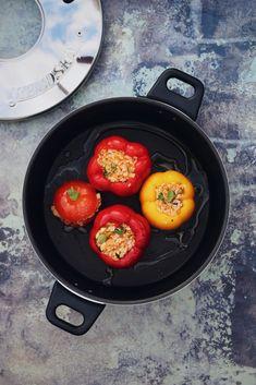 Gemista, tradičná grécka plnená zelenina - recept od Coolinári   food blog
