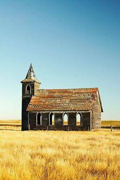 Deserted Church- Dooley, Montana