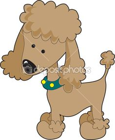 Poodle Apricot by mkoudis - Stock Vector