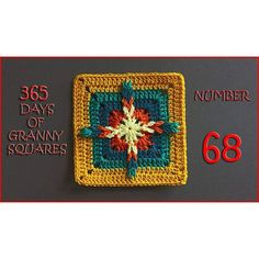 365 Days of Granny Squares Number 68 - YouTube❤