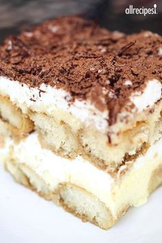 """Tiramisu II I """"I made this recipe for company last Friday and it was wonderful. I learned to make Tiramisu in Italy from my husband's family and this was every bit as good."""""""
