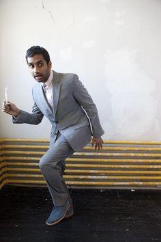Aziz Ansari | Offbeat Indian Groom Fashion Inspiration | Photography by Santangelo Studios for Paper Magazine