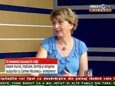 Carmen Nicolescu - ANTREPRENOR DESPRE SUCCES - ARGES TV,  01 IUN 2015, p...