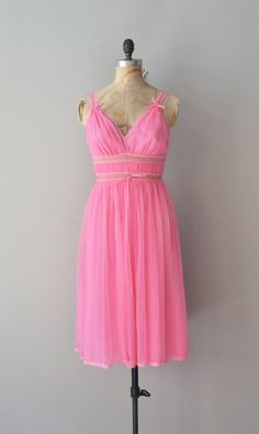 Miss Bardot peignoir set vintage 1960s lingerie by DearGolden