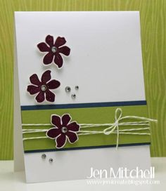 Summer Silhouettes by jenmitchell - Cards and Paper Crafts at Splitcoaststampers