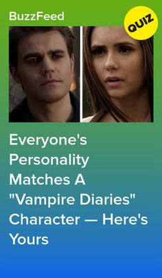 """Everyone's Personality Matches A """"Vampire Diaries"""" Character — Here's Yours Vampire Quiz, Vampire Diaries Quiz, The Vampire Diaries Characters, Vampire Diaries Poster, Vampire Diaries Outfits, Vampire Diaries Wallpaper, Vampire Diaries The Originals, Vampire Diaries Costume, Vampire Series"""
