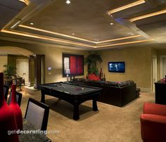 loft ideas, game room